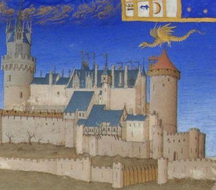 chateau de buffavent lully, légende de mélusine, duc louis 1er de savoie, anne de lusignan, françois de langin
