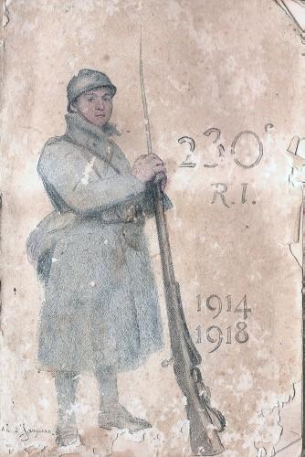 guerre 14-18,poilus savoyards