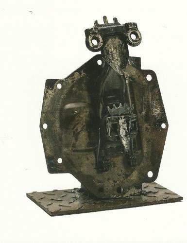 sculptures de bernard lacroix,galerie fert yvoire,jean-claude fert