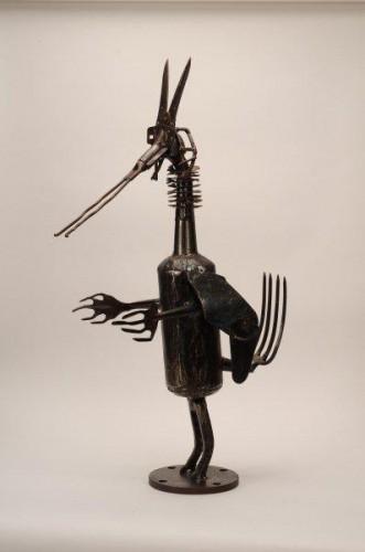exposition bernard lacroix,jean-claude fert,galerie fert yvoire,peinture,sculpture