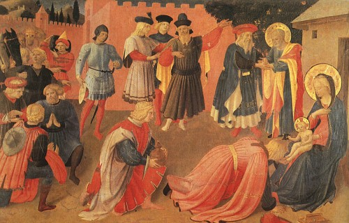 bernard lacroix,poésie,épiphanie,adoration des mages,fra angelico,puer natus est,cahiers du musée de fessy